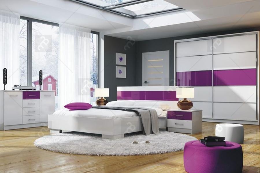 Nowoczesna sypialnia Dubaj