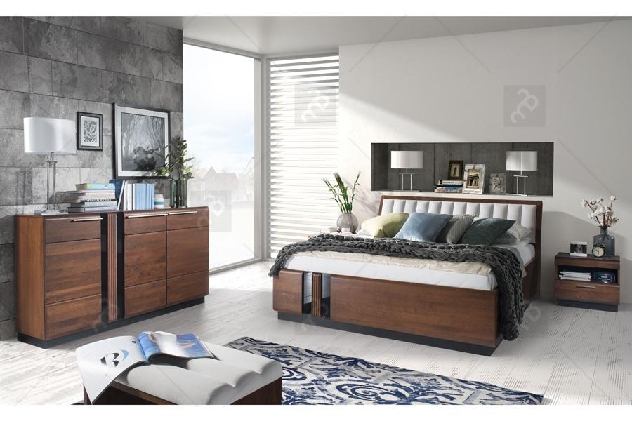 meble do sypialni z drewna