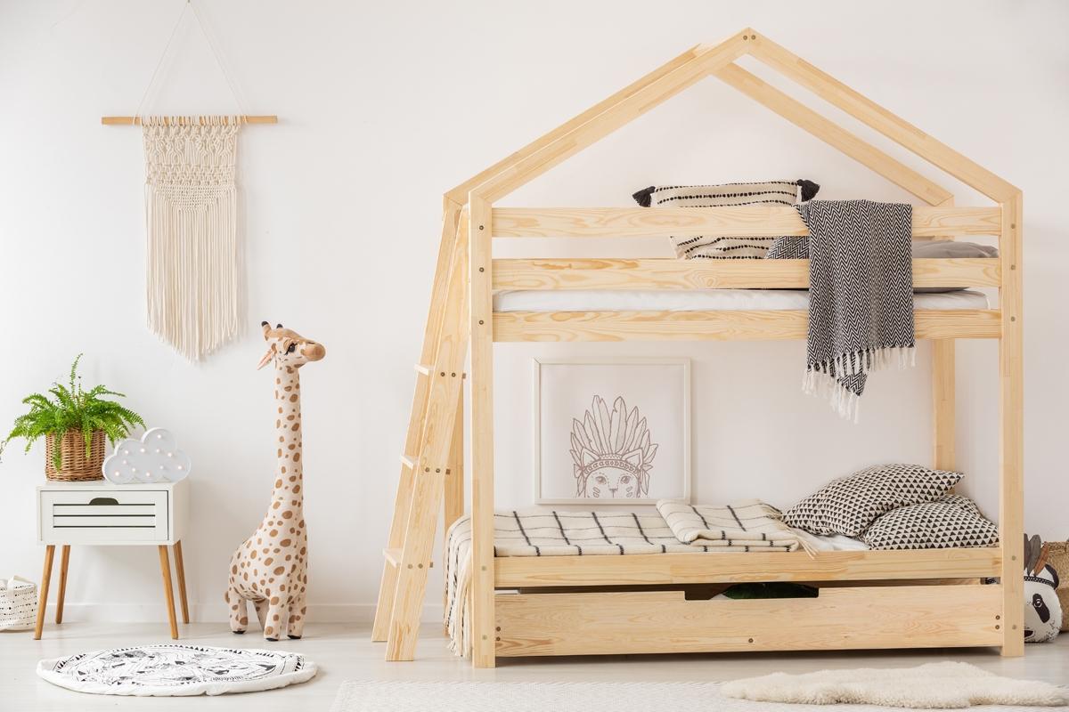 Łóżka dziecięce domek